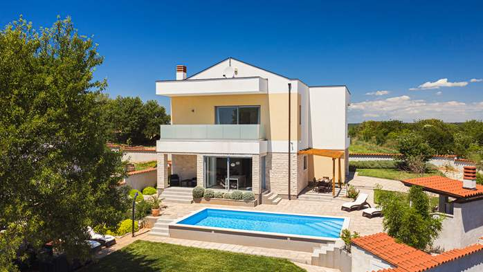 Brand new and modern villa with pool and sauna near Fažana, 2