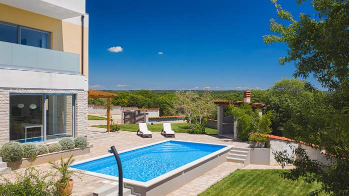 Brand new and modern villa with pool and sauna near Fažana, 4