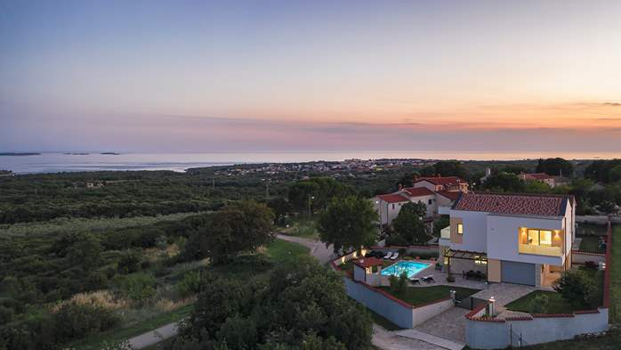 Brand new and modern villa with pool and sauna near Fažana, 17