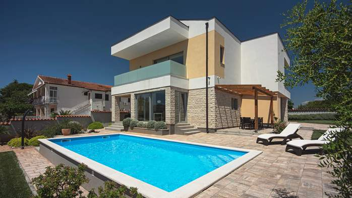 Brand new and modern villa with pool and sauna near Fažana, 5
