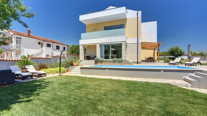 Brand new and modern villa with pool and sauna near Fažana, 6