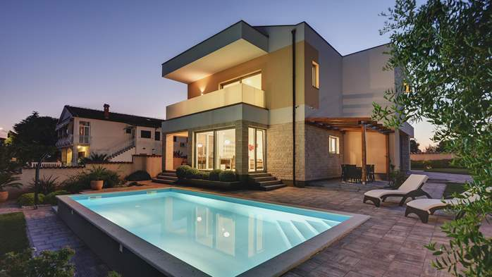 Brand new and modern villa with pool and sauna near Fažana, 19