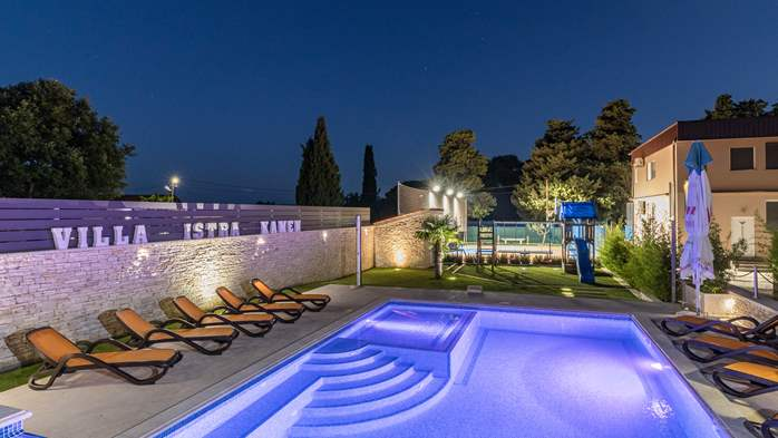Enchanting villa with pool, finnish sauna, jacuzzi and gym, 7