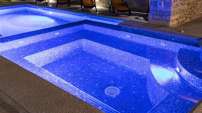 Očaravajuća vila s bazenom, finska sauna, teretana, jacuzzi, WiFi, 27