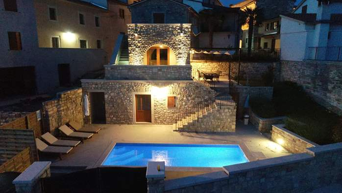 Charming villa with heated pool in the heart of Istria, 11