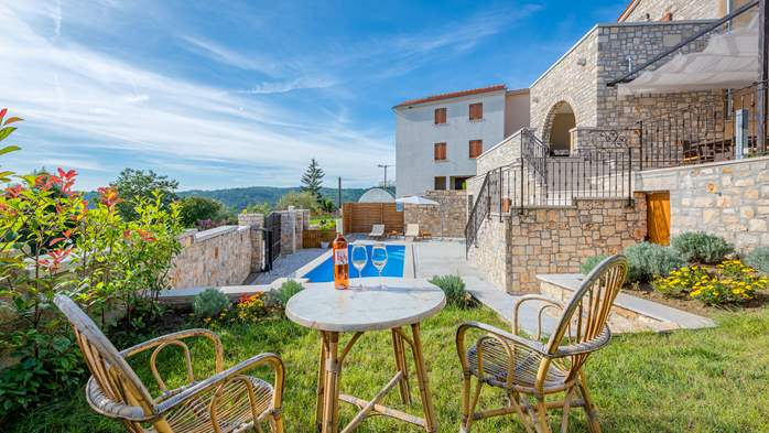Charming villa with heated pool in the heart of Istria, 6