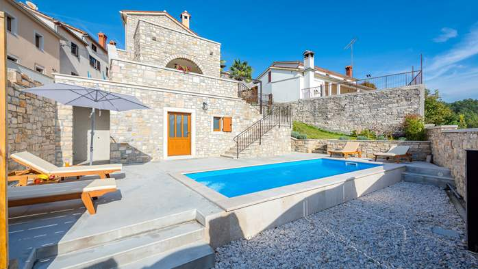 Charming villa with heated pool in the heart of Istria, 8