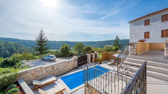 Charming villa with heated pool in the heart of Istria, 3