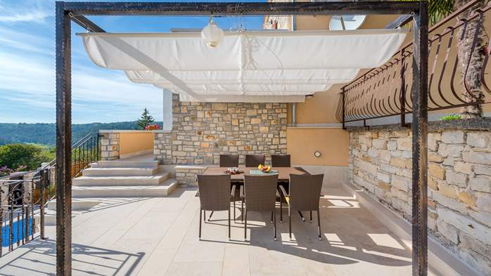 Charming villa with heated pool in the heart of Istria, 13