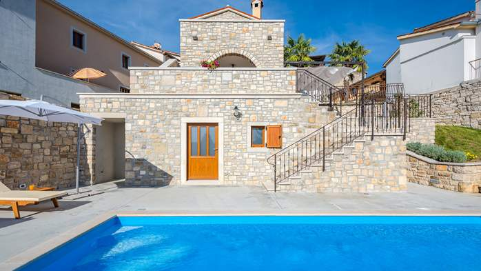 Charming villa with heated pool in the heart of Istria, 10
