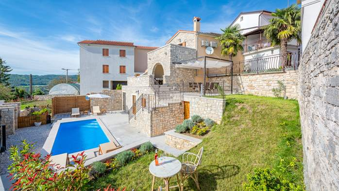 Charming villa with heated pool in the heart of Istria, 4