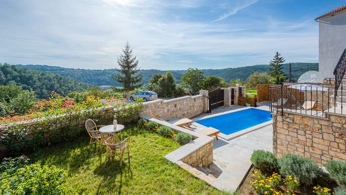 Charming villa with heated pool in the heart of Istria, 1