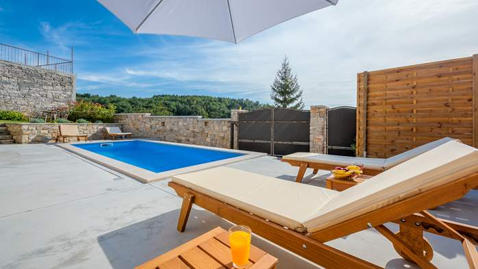 Charming villa with heated pool in the heart of Istria, 12