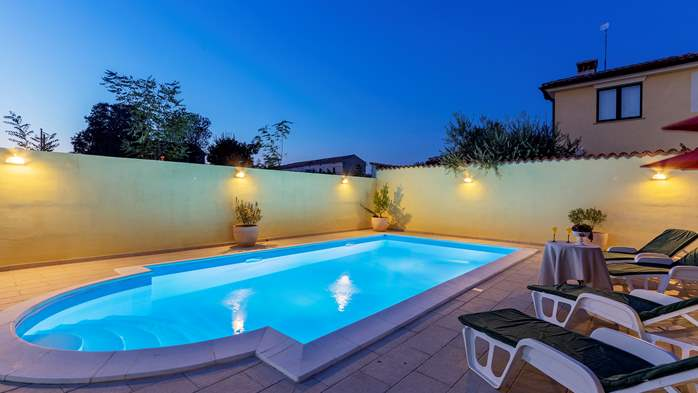 Villa near Vodnjan, with private pool, terrace, barbecue, WiFi, 7