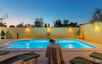 Villa near Vodnjan, with private pool, terrace, barbecue, WiFi