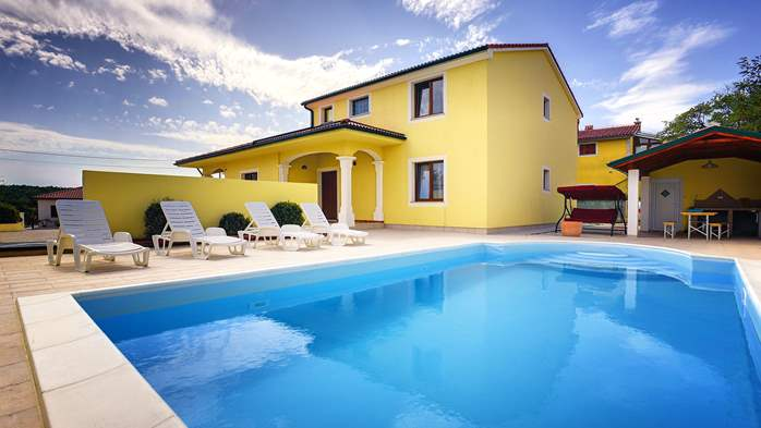 Villa near Vodnjan, with private pool, terrace, barbecue, WiFi, 19