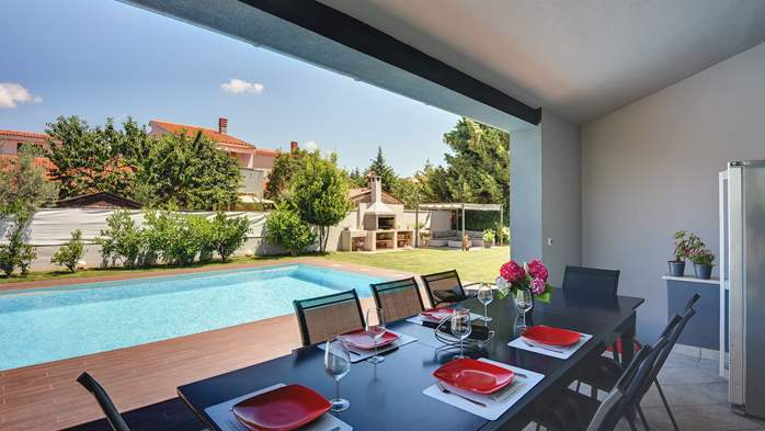 Outstanding villa with heated pool, air conditioning and WiFi, 14