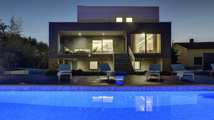 Marvelous villa in Banjole with pool, sauna, gym and free WiFi, 2