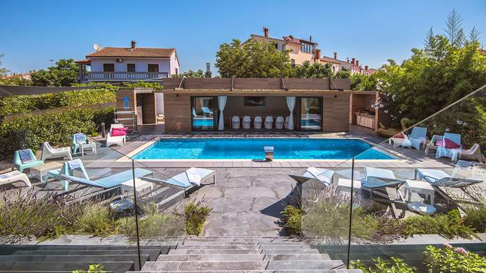 Marvelous villa in Banjole with pool, sauna, gym and free WiFi, 12
