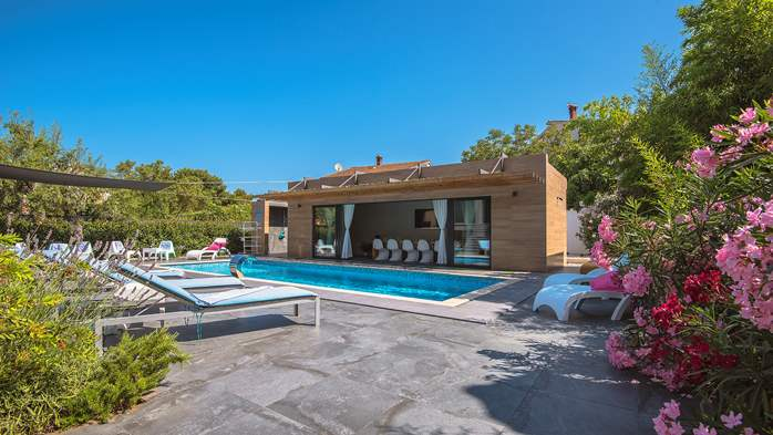 Marvelous villa in Banjole with pool, sauna, gym and free WiFi, 13