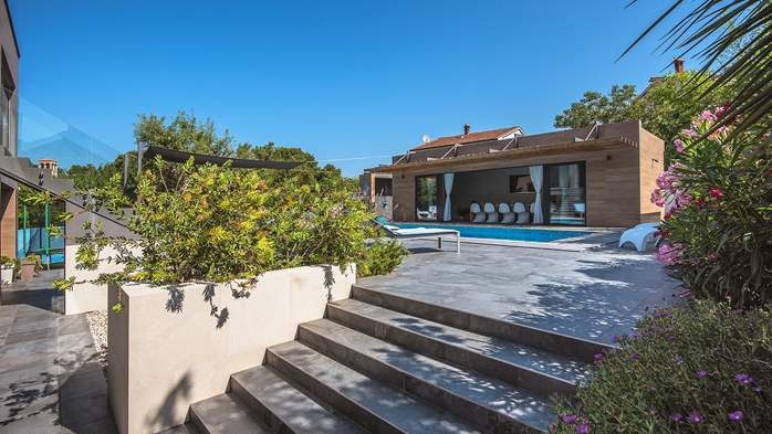 Marvelous villa in Banjole with pool, sauna, gym and free WiFi, 14
