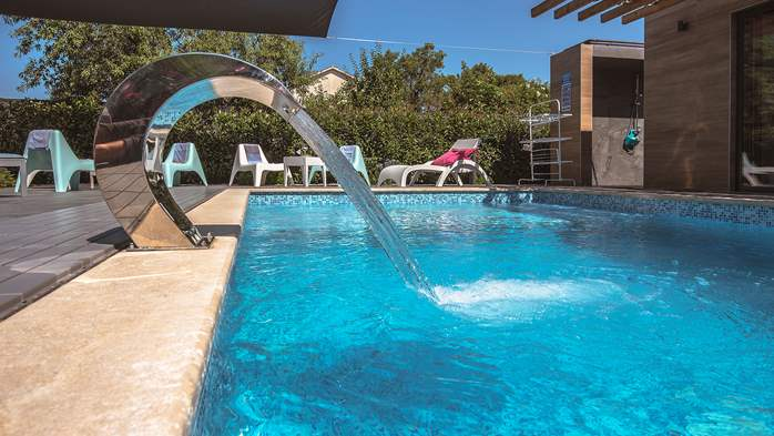 Marvelous villa in Banjole with pool, sauna, gym and free WiFi, 3