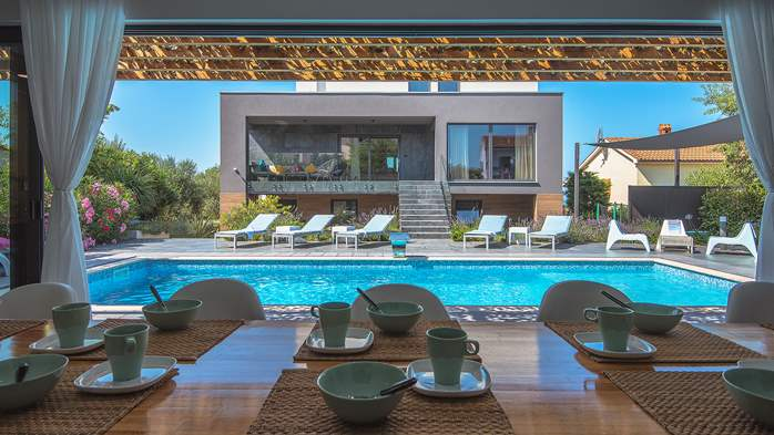 Marvelous villa in Banjole with pool, sauna, gym and free WiFi, 5