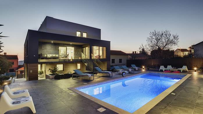Marvelous villa in Banjole with pool, sauna, gym and free WiFi, 4
