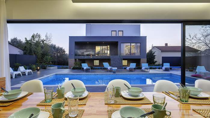 Marvelous villa in Banjole with pool, sauna, gym and free WiFi, 7