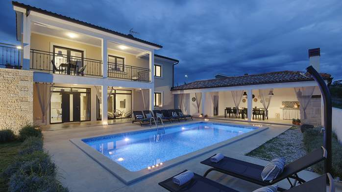 Graciously decorated two storey villa, with pool and terrace, 1