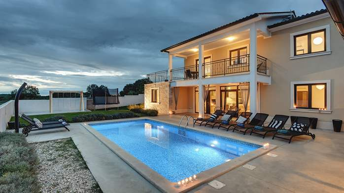 Graciously decorated two storey villa, with pool and terrace, 5