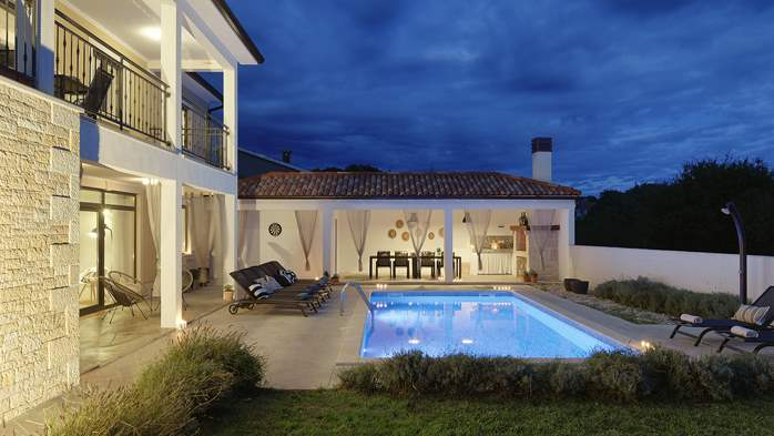 Graciously decorated two storey villa, with pool and terrace, 2