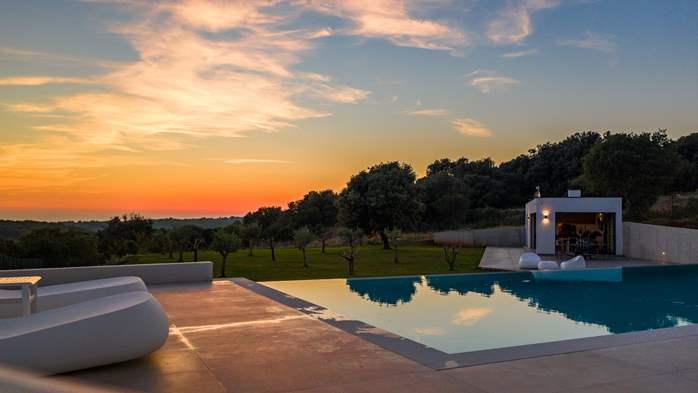 Stylish villa with heated pool near Pula, with wine cellar, 8