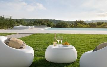 Stylish villa with heated pool near Pula, with wine cellar