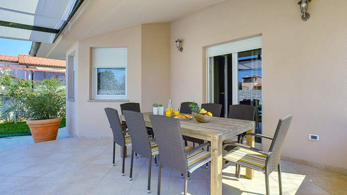 Gorgeous villa in Valbandon, with pool, barbecue and bikes, 9