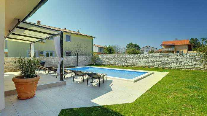 Gorgeous villa in Valbandon, with pool, barbecue and bikes, 6