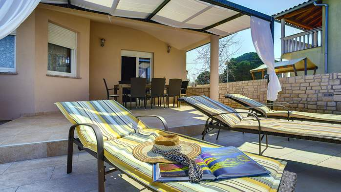 Gorgeous villa in Valbandon, with pool, barbecue and bikes, 7