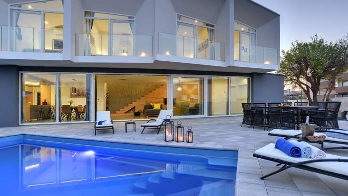 Wonderful newly built villa in Ližnjan, with private pool and BBQ, 6