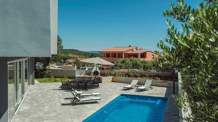 Wonderful newly built villa in Ližnjan, with private pool and BBQ, 2