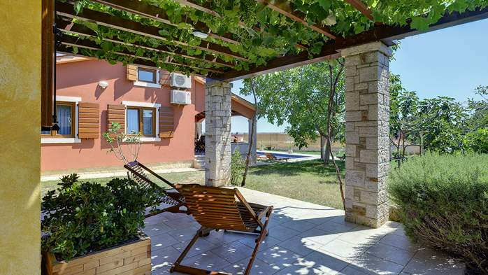 Charming villa with outdoor pool, nice garden and tavern, 3