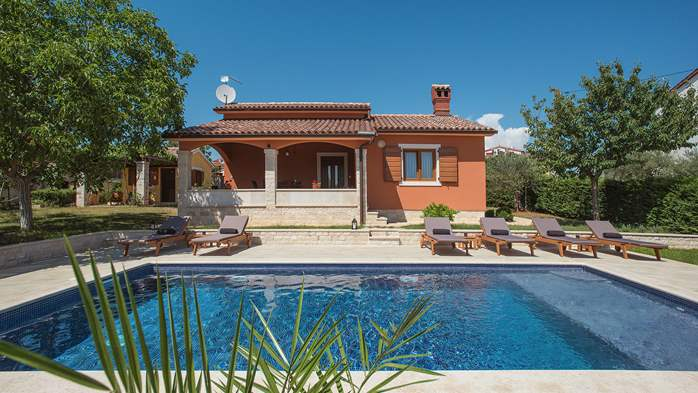 Charming villa with outdoor pool, nice garden and tavern, 1