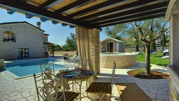 Heavenly villa close to Rovinj, with heated pool, sauna, jacuzzi, 6