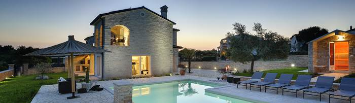 Villas with pool in Rovinj