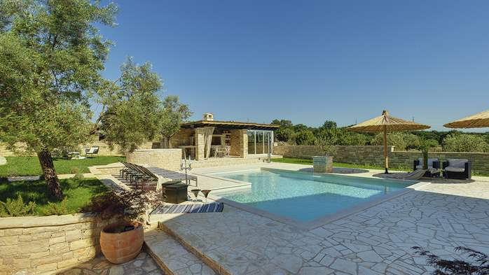 Heavenly villa close to Rovinj, with heated pool, sauna, jacuzzi, 13