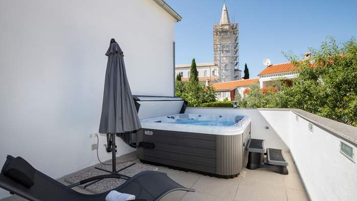 Beautiful renovated house in the center of Medulin, with Jacuzzi, 8