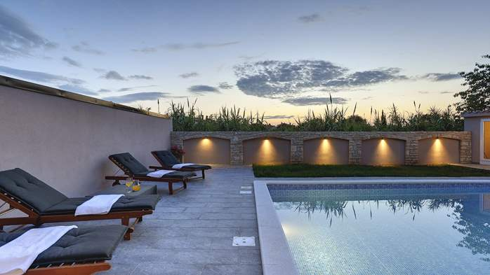 Unique, special villa in Valbandon with outdoor pool, 2