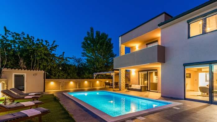 Unique, special villa in Valbandon with outdoor pool, 1