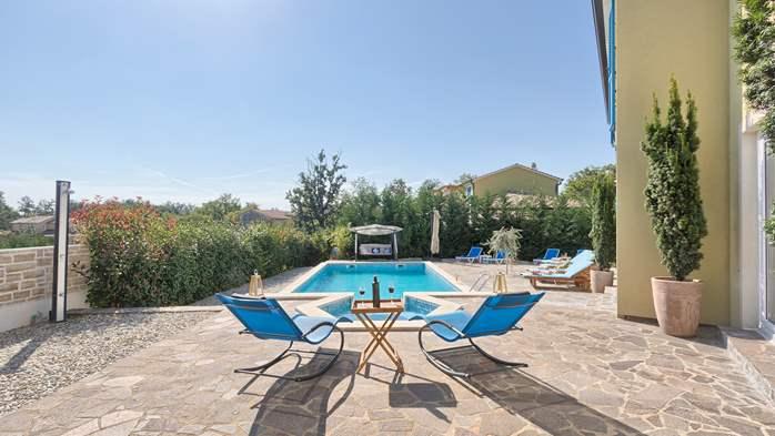 Attractive villa with 6 bedrooms, swimmingpool and Finnish sauna, 5