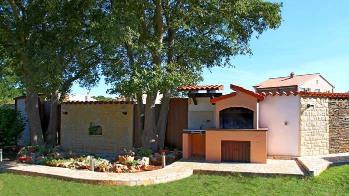 Comfortable house offers a children's playground, garden, Wi-Fi, 2