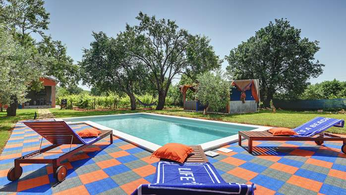 Irresistible house in Medulin with pool and private garden, 8